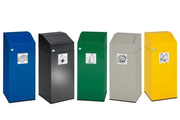 Wertstoffsammler  in mehreren Farben, 76L – Bild 1