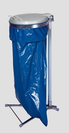 Müllsackständer mit Kunststoffdeckel in 2 Ausführungen – Bild 2