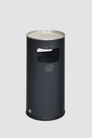 Abfallbehälter mit Ascher, 37L in 6 Farben – Bild 5