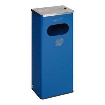 Abfallbehälter mit Ascher, 32L in 4 Farben
