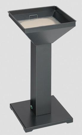 Standaschenbecher mit Sandsieb und standsicherer Bodenplatte in 5 Farben – Bild 2