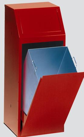 Wertstoffsammler mit Klapptür, 68L in 5 Farben – Bild 3