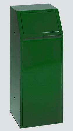Wertstoffsammler mit Klapptür, 68L in 5 Farben – Bild 2