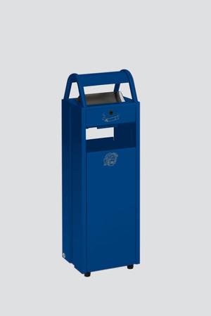 Abfallbehälter mit Ascher, 35L/5L in 5 Farben – Bild 5