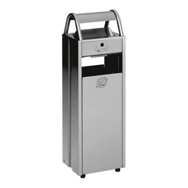 Abfallbehälter mit Ascher, 35L/5L in 5 Farben – Bild 1