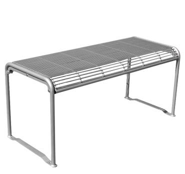 Tisch RIGA zum Aufstellen oder Bodenbefestigung in mehreren Farben