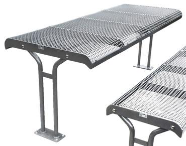 Tisch BAKU mit Standfuß in mehreren Ausführungen – Bild 1
