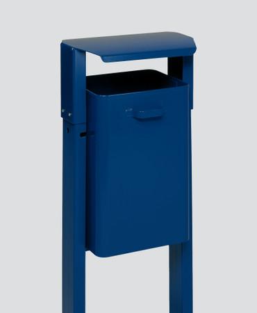 Abfallbehälter mit Dach in mehreren Ausführungen, 40L – Bild 3