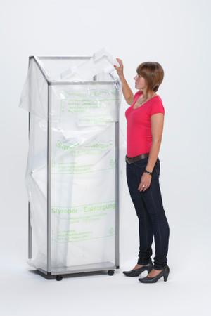 Müllsackständer für 1 cbm Styroporsäcke – Bild 4