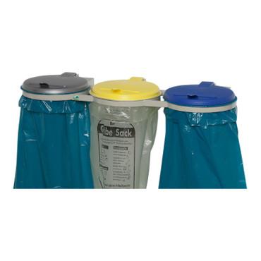 Müllsackständer 3-fach, zur Wandbefestigung
