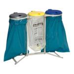 Müllsackständer 3-fach, stationär
