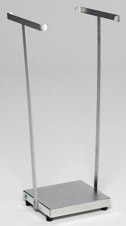 Abfallsammler für 120L Säcke, verzinkt - stationäre oder fahrbare Ausführung – Bild 2
