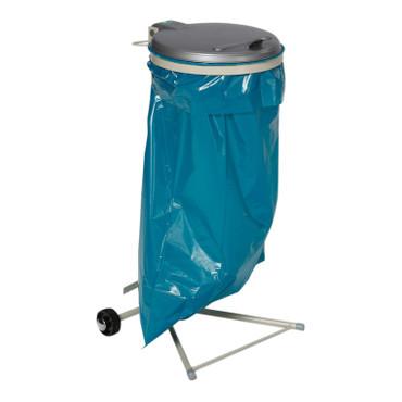 Müllsackständer mit 2 Laufrollen in 3 Farben – Bild 1
