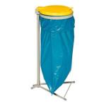 Müllsackständer mit Kunststoffdeckel in 3 Farben 001