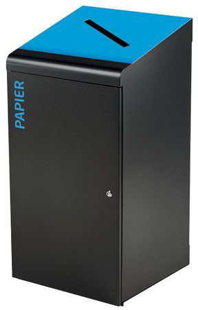 Abfallbehälter für Abfalltrennung, Mülltrennsystem 120L, Individuelle Gestaltung – Bild 7