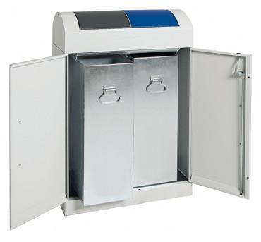 Wertstoffsammler 2-fach, inkl. Innenbehälter, 2x45L – Bild 2