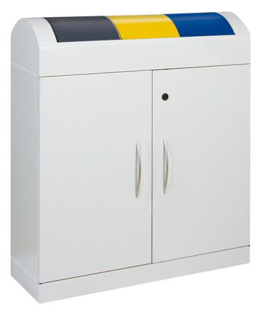 Wertstoffsammler 3-fach, inkl. Innenbehälter, 3x45L – Bild 1