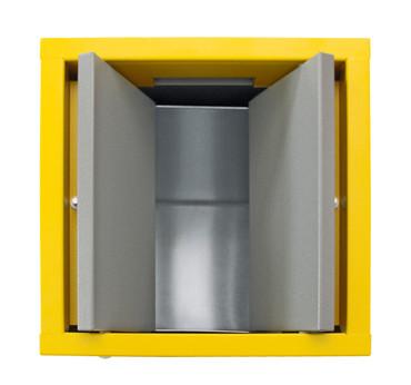 Wertstoffsammelstation 3-fach mit Innenbehälter in 2 Ausführungen – Bild 2