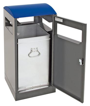 Abfallbehälter für Außenbereich, inkl. Innenbehälter, verschiedene Größen und Farben – Bild 1