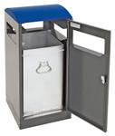 Abfallbehälter für Außenbereich, inkl. Innenbehälter, verschiedene Größen und Farben