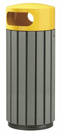 Abfallbehälter in Holzoptik, 100% RECYCELBAR in verschiedenen Größen und Farben – Bild 6