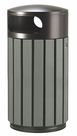 Abfallbehälter in Holzoptik, 100% RECYCELBAR in verschiedenen Größen und Farben – Bild 5