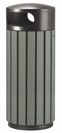 Abfallbehälter in Holzoptik, 100% RECYCELBAR in verschiedenen Größen und Farben – Bild 3