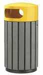 Abfallbehälter in Holzoptik, 100% RECYCELBAR in verschiedenen Größen und Farben