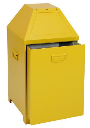 Selbstlöschende Abfallbehälter, 80L oder 95L in 2 Farben – Bild 1