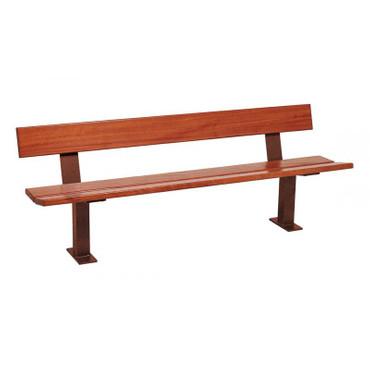 Sitzbank MINSK aus Holz mit Rückenlehne in mehreren Farben – Bild 7