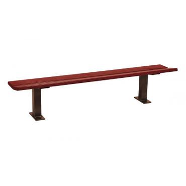 Sitzbank MINSK aus Holz ohne Rückenlehne in mehreren Farben – Bild 5