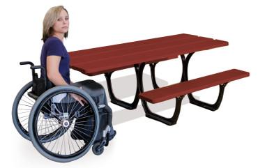 Picknick-Tisch SUVA  aus Holz in mehreren Ausführungen – Bild 3