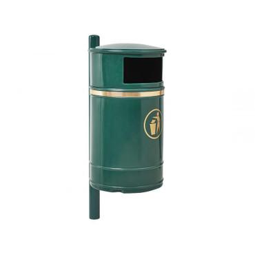Abfallbehälter aus witterungsbeständige Kunststoff, 40L – Bild 1