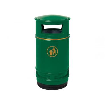 Abfallbehälter aus witterungsbeständige Kunststoff, 90L – Bild 1