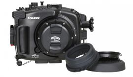 Fantasea FA6000 Set UW Gehäuse für SONY A6000 mit Port & Zoomring #15191