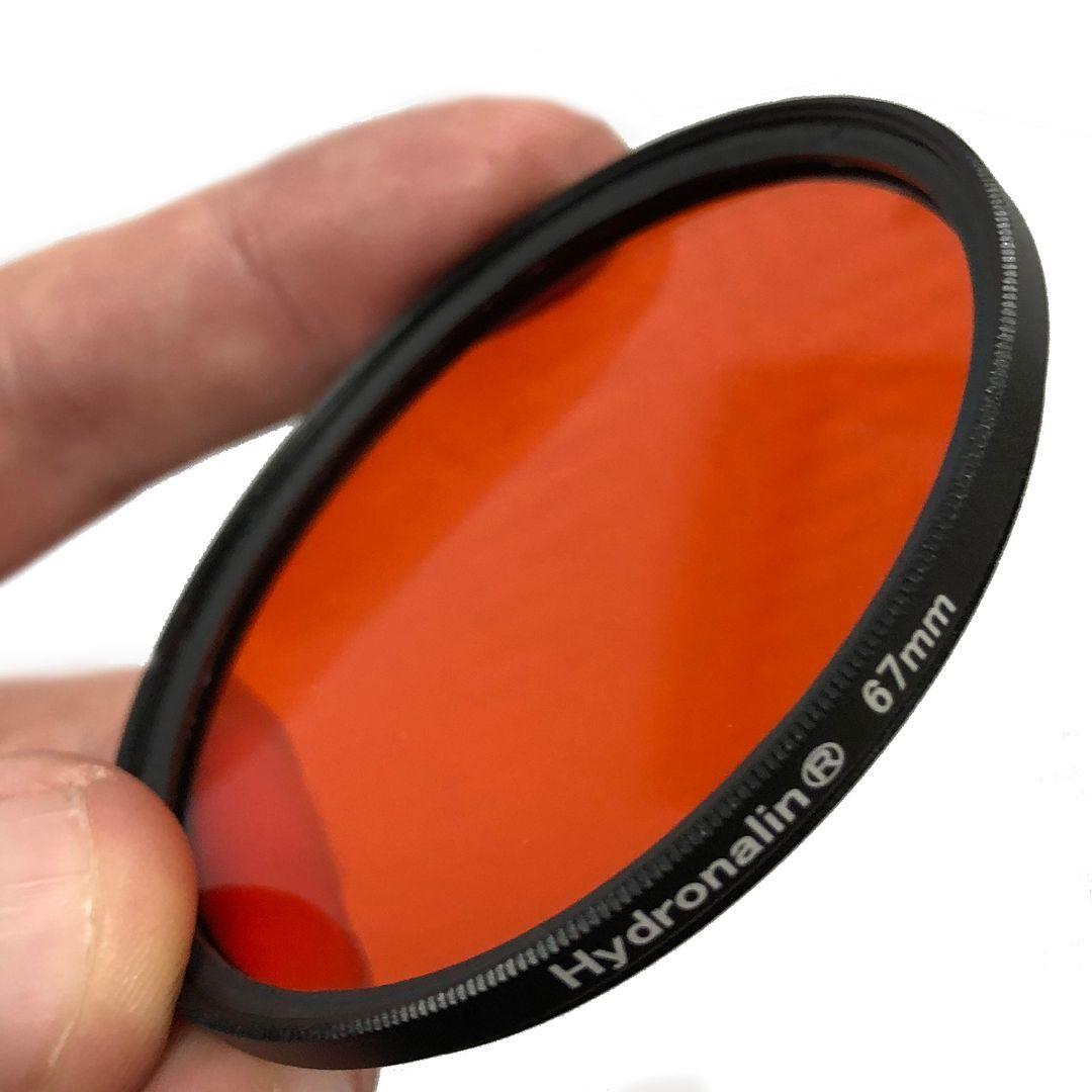 Rotfilter M67 Rot / Orangefilter für Unterwasserfotografie
