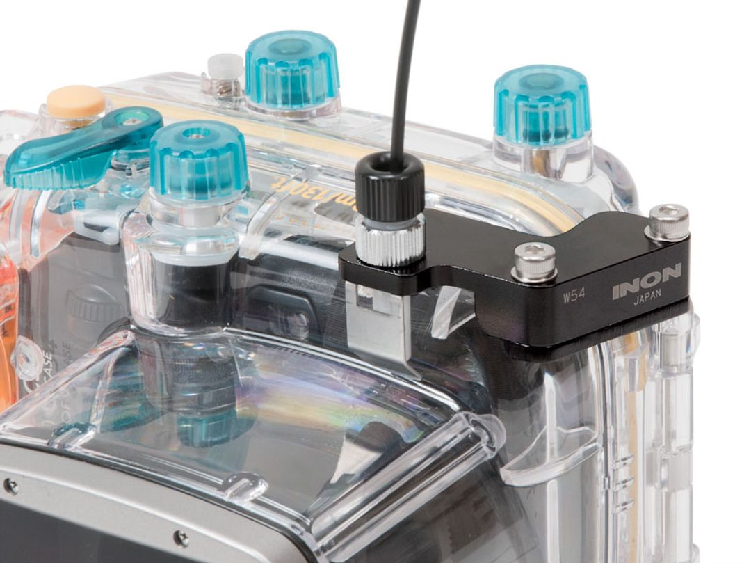 INON Optisches D Kabel Typ L W54 Set für Canon WP-DC34 mit Powershot G11 & G12