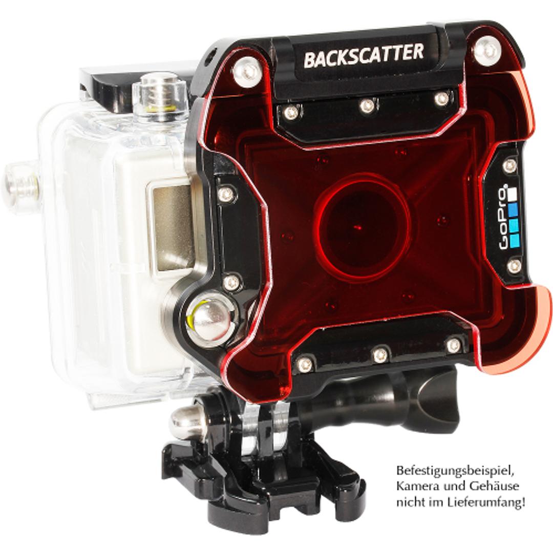 Backscatter Klapp MagicFilter für GoPro Dive UW Gehäuse – Bild 3
