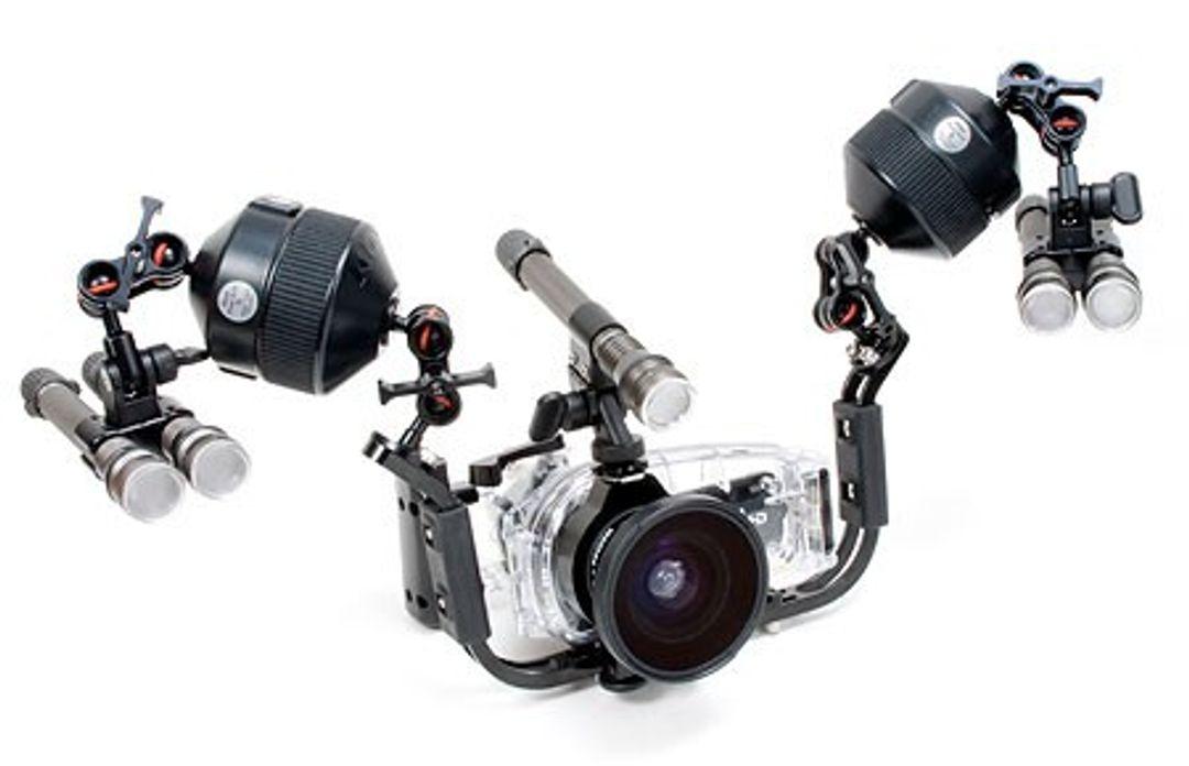 INON Video Base V4 (für Canon iVIS HF M51 + WP-V4) – Bild 3