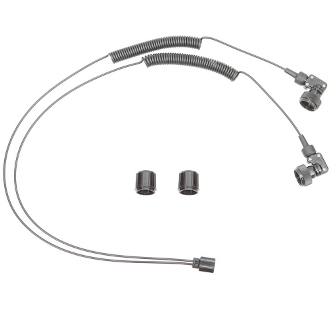 INON Doppeltes Optisches D Kabel L Typ L mit Gummi Bush-M11 Adapter Set