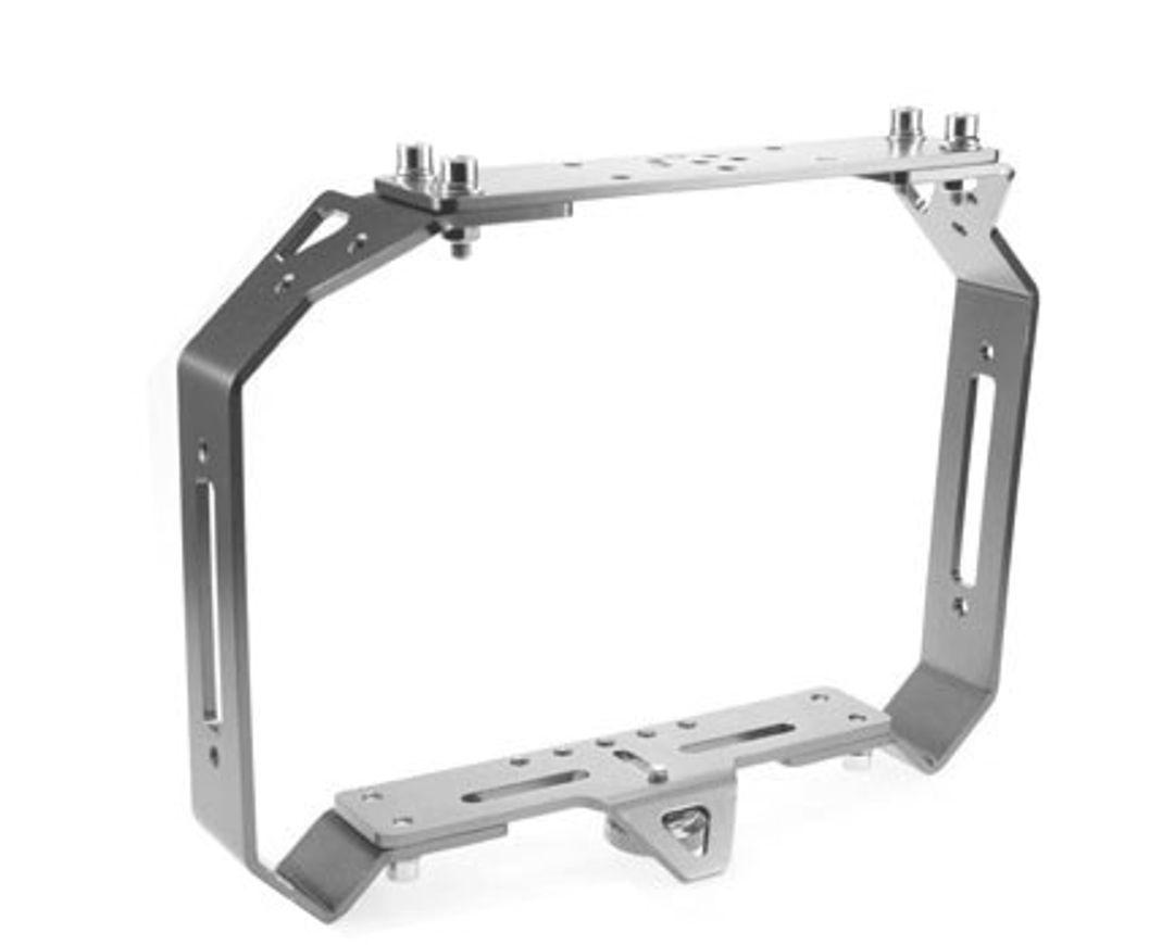 i-Divesite Basis Schiene HD-Tray 03 mit verstellbaren Handgriffen & Haltebügel – Bild 2