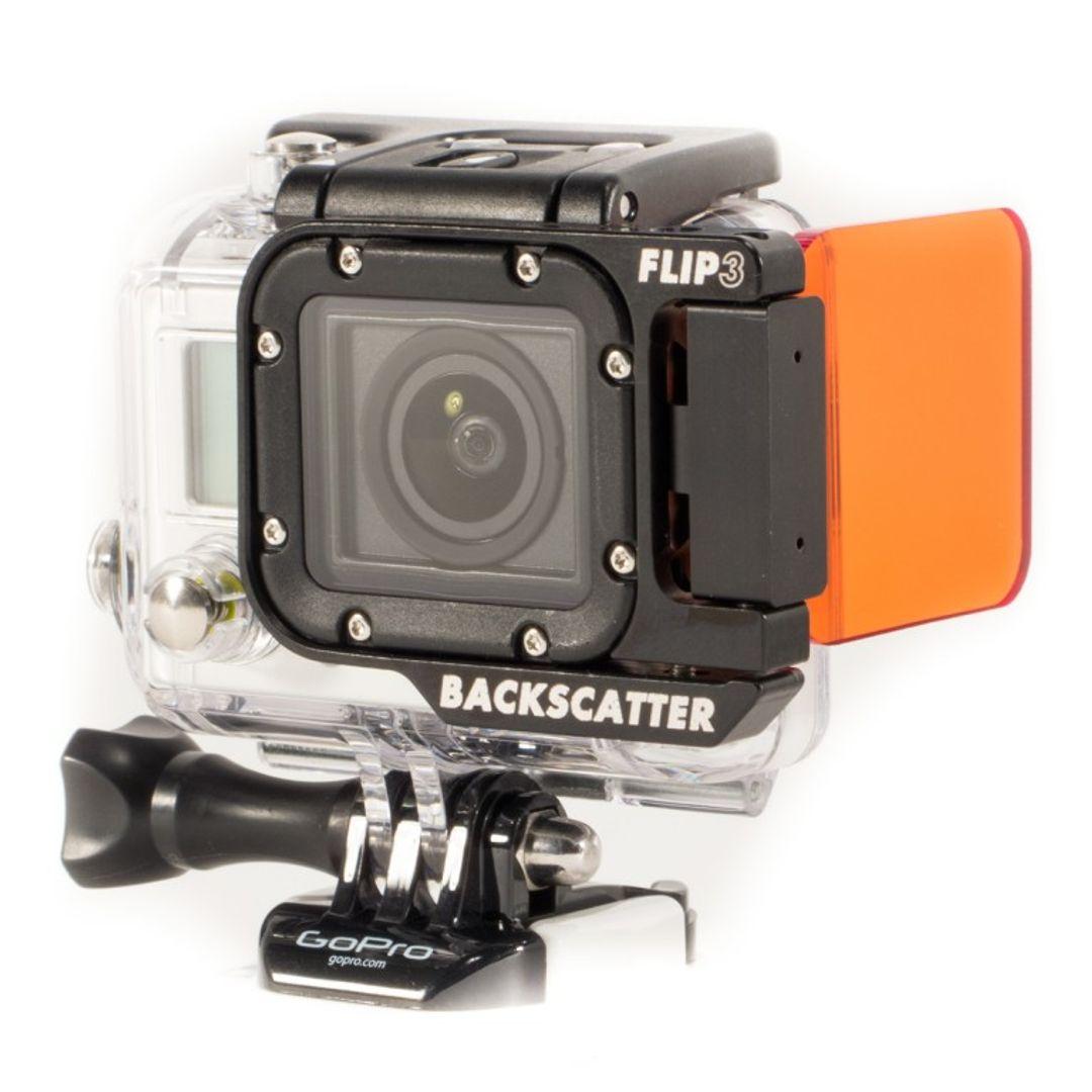 Backscatter Flip3 Farbkorrekturfilter für GoPro Hero3 UW Gehäuse – Bild 6