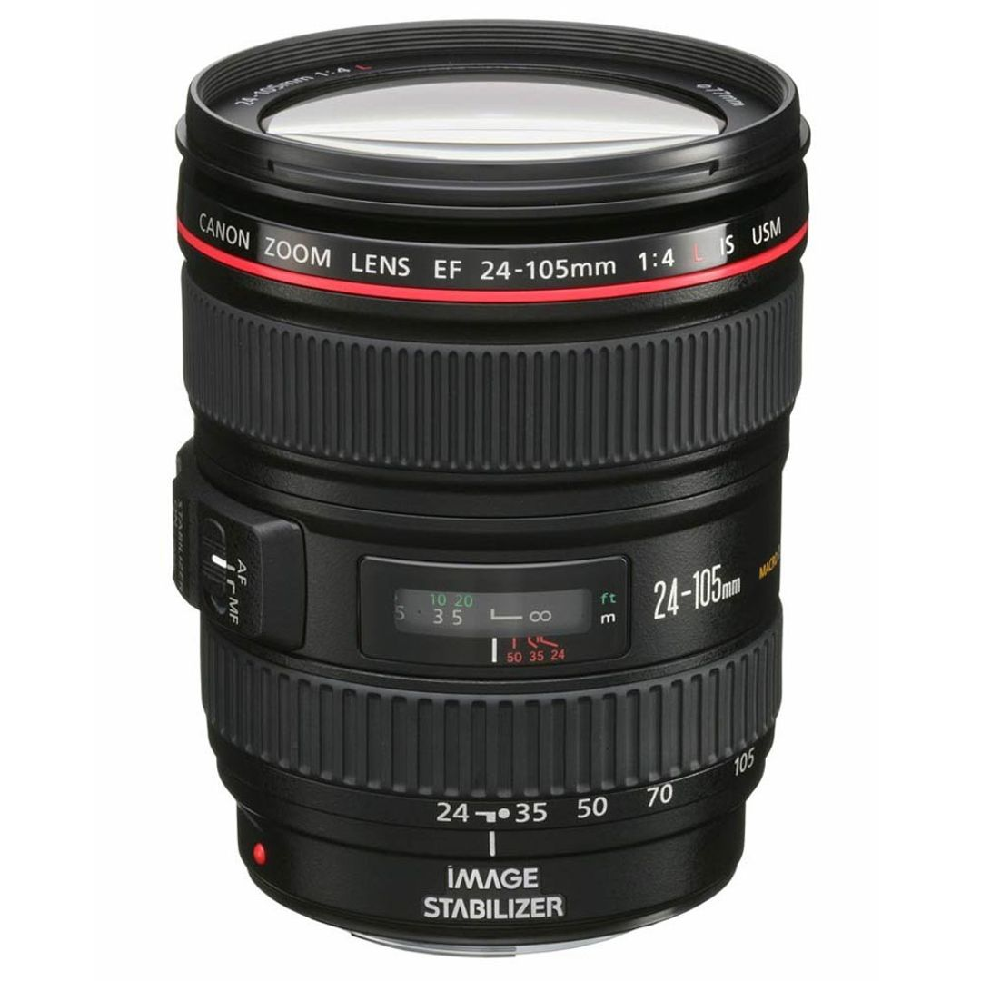 Canon EF 24-105mm f/4L IS USM Hochleistungszoom Objektiv