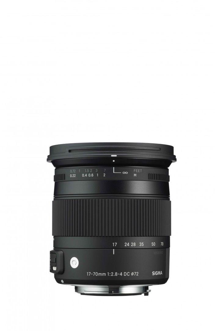 Sigma 17-70mm f/2.8-4.0 DC Makro OS HSM-Objektiv für Nikon Objektivbajonett – Bild 1