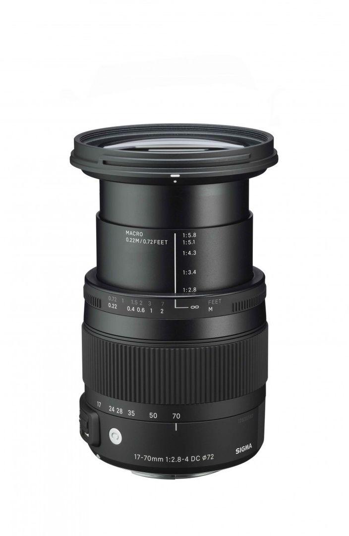 Sigma 17-70mm f/2.8-4.0 DC Makro OS HSM-Objektiv für Nikon Objektivbajonett – Bild 6