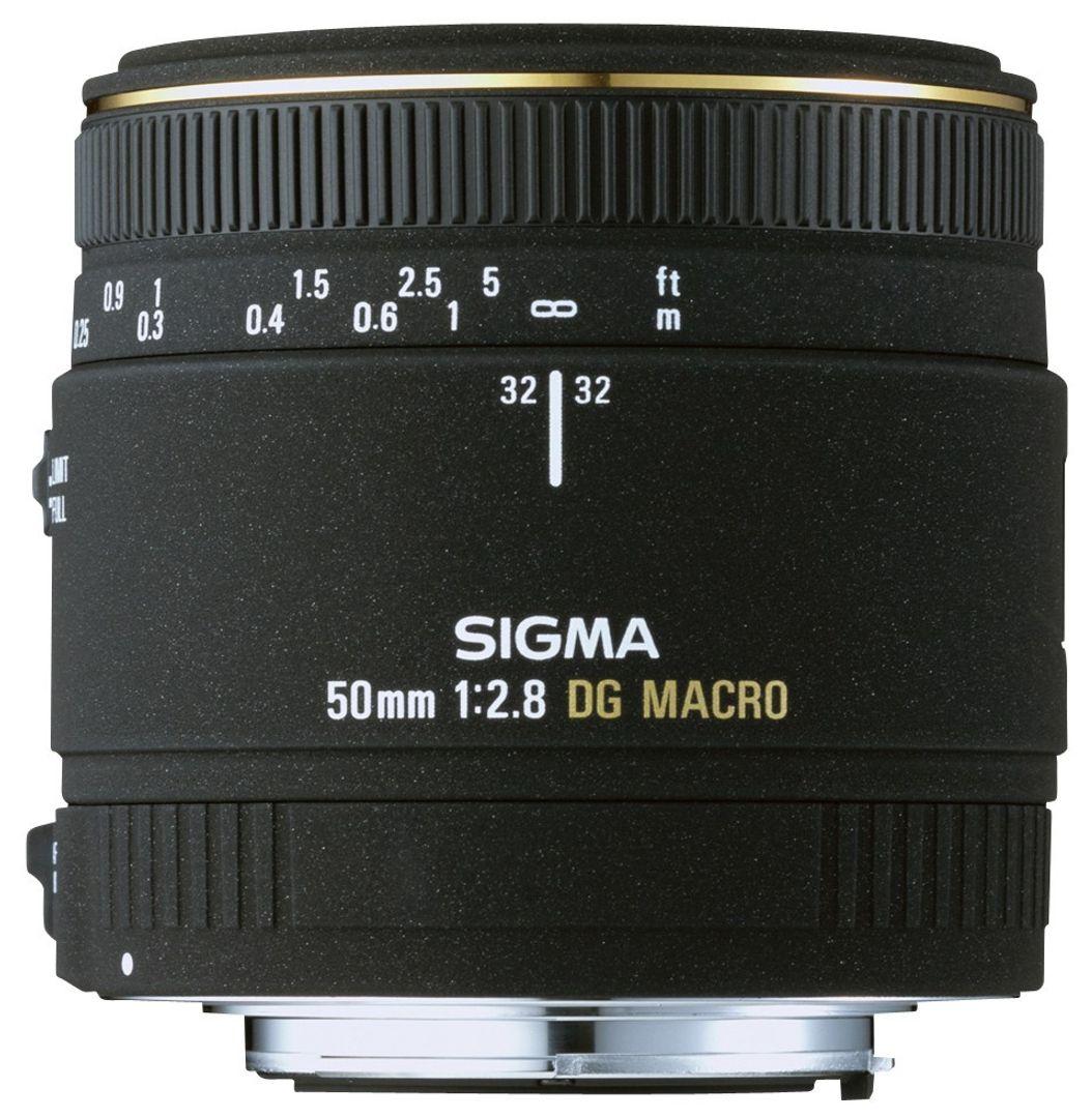 Sigma 50mm f/2.8 EX DG Makro-Objektiv für Nikon Objektivbajonett – Bild 2