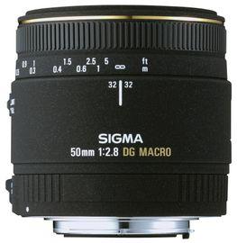 Sigma 50mm f/2.8 EX DG Makro-Objektiv für Nikon Objektivbajonett Bild 2