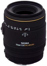 Sigma 70mm f/2.8 EX DG Makro Objektiv für Canon Objektivbajonett 001