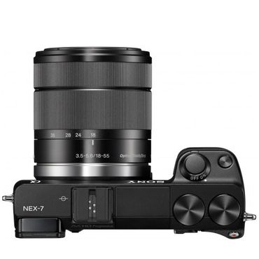Sony NEX-7KB Systemkamera (24 Megapixel, 7,5 cm (3 Zoll) Display, Full HD Video) Kit inkl. 18-55mm Objektiv – Bild 6