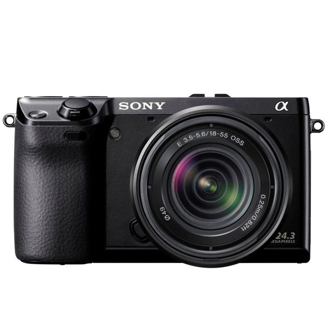 Sony NEX-7KB Systemkamera (24 Megapixel, 7,5 cm (3 Zoll) Display, Full HD Video) Kit inkl. 18-55mm Objektiv – Bild 5